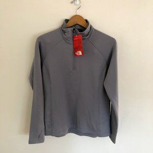 NWT North Face Mountain Peaks 1/4 Zip Jacket Med